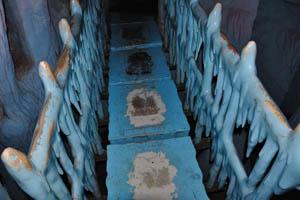 Борасура: этой ледяной мост колышется под ногами при движении