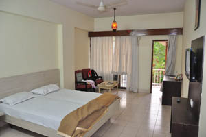 Отель Mandakini Jaya International, наша комната
