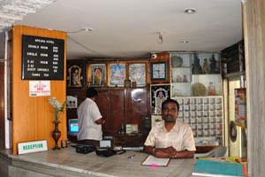 Отель Apsara, место регистрации