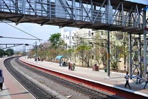 Железнодорожная станция Парк Sanjivaiah