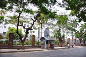 Музей Salarjung, автобусная остановка