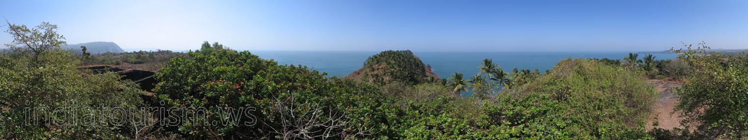 Самое высокое место форта Кабо де Рама