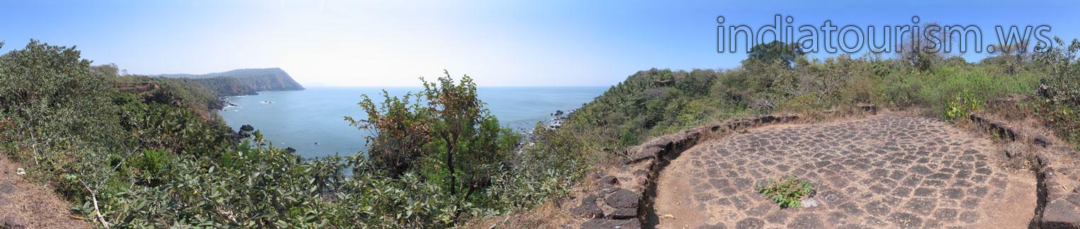 Южная стена форта Кабо де Рама