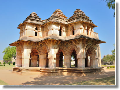Lotus Mahal in Hampi, Karnataka
