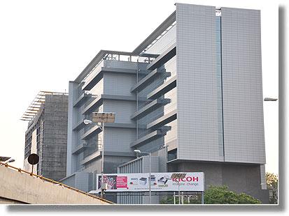 HITEC city in Hyderabad, Andhra Pradesh