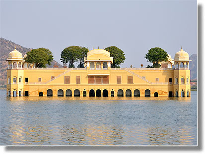 Jal Mahal (Water Palace) in Jaipur district
