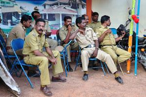Полиция на фестивале поддерживает порядок