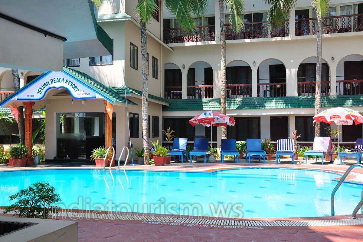 Открытый бассейн дома отдыха «Дживан»