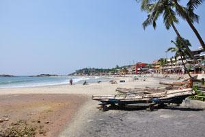 Вид пляжа Маяк с южной точки