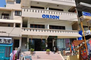 Вход в дом отдыха «Орион»