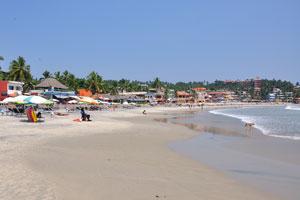 Этот пляж один из самых лучших в Индии