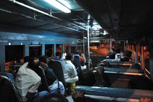 По дороге из Тируванантапурама в Аттингал, внутри автобуса