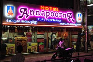 Чисто вегетарианский отель «Аннапурна»