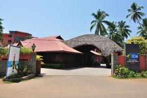 Вход в ЮДиСи (Отель пляжного отдыха «Удай Самудра»)