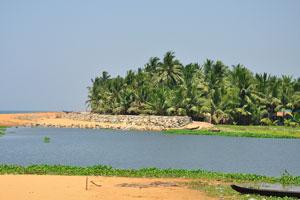 Восхитительный прибрежный парк стал очень популярен среди жителей Кералы