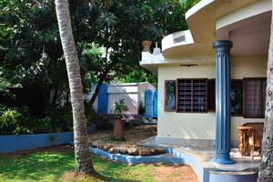 Синяя колонна дома
