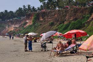 Пляж после полудня