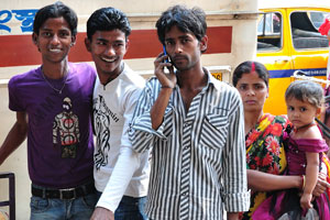 Молодежь Калькутты
