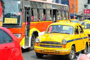Жёлтое такси Калькутты
