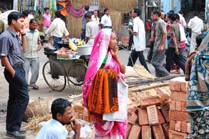 Калькутта - это сплошной и непрекращающийся рынок
