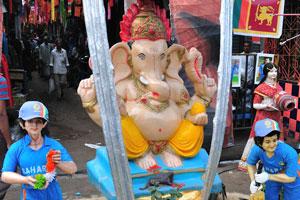 Индуистский бог с головой слона