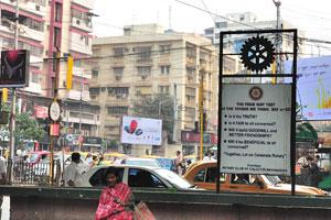 Каждый перекрёсток Калькутты полон сумасшедших звуков