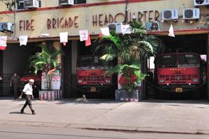 Штаб пожарной бригады