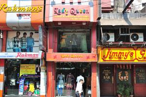Магазины на улице Линдсей