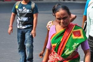 Индийская бабушка