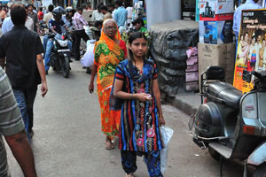 Магазины на улице Чандни Чоук