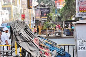 Кабина полиции Калькутты