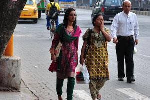 Вот женщины Калькутты
