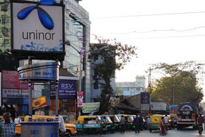 Перекрёсток между улицами Дешапран Шашмал Роуд и Принц Анвар Шах Роуд