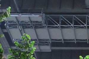 Вот детальная картина моста в его нижней части