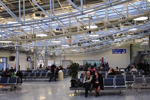 Мы находимся в киевском аэропорту перед вылетом в Нью-Дели