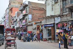Мэйн Базар в Нью-Дели: ремесленные изделия