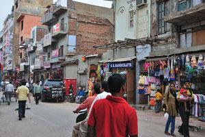 Мэйн Базар в Нью-Дели: гостевой дом «Киран»