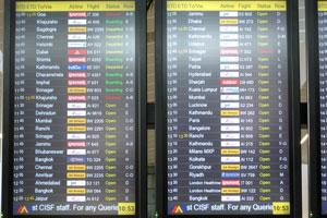 Электронное расписание внутренних и международных вылетов