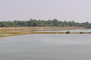 Вид с моста на дорогу Брахмагири