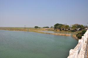 Вид с моста Брахмагири