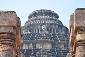 Верхняя часть храма Солнца