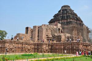 Храм Солнца был задуман как гигантская колесница бога Солнца