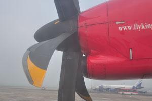 Наш полёт из Калькутты в Бхубанешвар на боинге