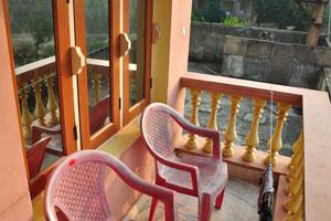 Наш второй номер в отеле «Гостиница Морской королевы» имеет прекрасный балкон с видом на океан