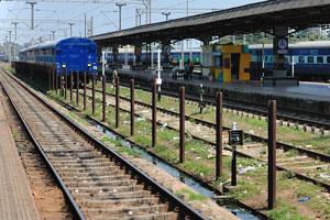 Железнодорожный вокзал в Пури
