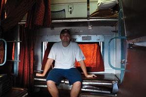 Наше путешествие на поезде из Пури в Вишакхапатнам