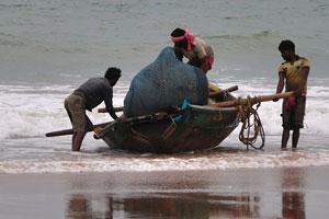 Рыбаки прибыли