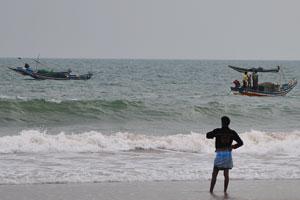На берегу Бенгальского залива