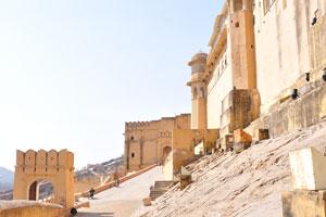 Величественный вид форта
