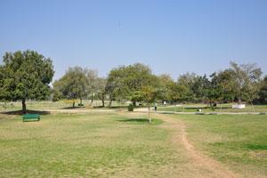 Вход в Центральный парк с дороги Саваи Рам Сингх
